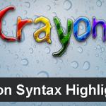 バグ回避!Crayon SyntaxHighliterの上手な使い方