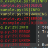 Python での Log 収集